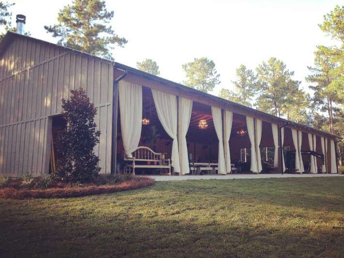 Tallahassee Thomasville Venue Loblolly Rise Barn Weddings Events