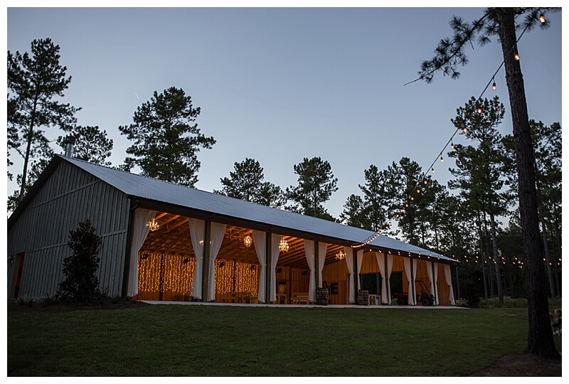 Tallahassee Thomasville Venue Loblolly Rise Barn Weddings EventsTallahassee Wedding Venues